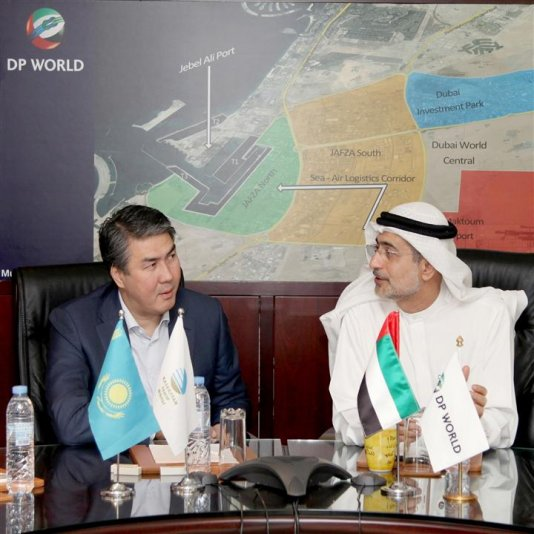 DP WORLD MEETS KAZAKHSTAN