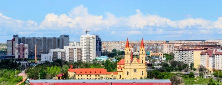 To Karaganda, Kazakhstan