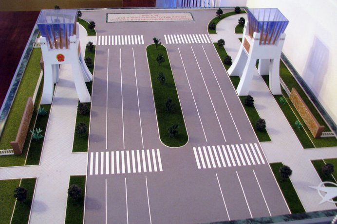 A model of the new Sino-Kazakh