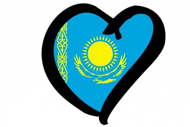 Kazajhstan Eurovision Flag