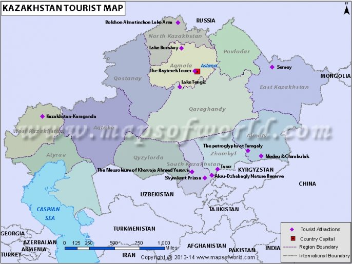 Kazakhstan tourist attractions