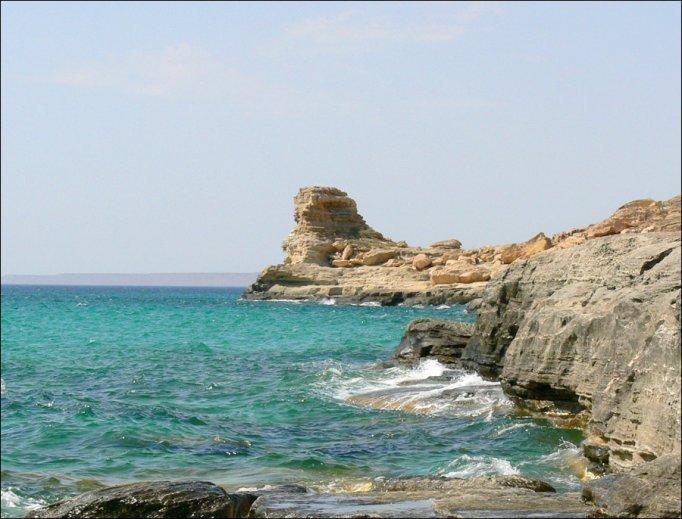 Mangystau region sea view