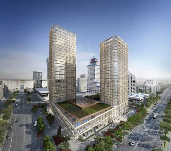 The Ritz Carlton Astana due to