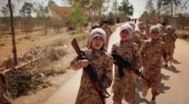 ISIS has released a shocking new video featuring children from Kazakhstan at a terrorist training camp