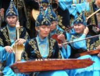 The folk group of Kazakh girls in their traditional costumes ( Image by Jonathan Newell )