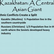 3 Kazakhstan a Central Asian giant