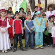 Kazakhstan children