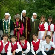 Kazakhstan traditional dress
