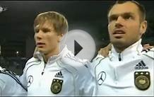 2010.10.12 Germany National Anthem v Kazakhstan - Euro