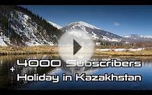 4 Subscribers and National Holiday in Kazakhstan!