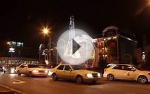 Almaty Night Timelapse