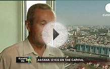Astana, the growing capital of Kazakhstan