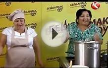 Cooking Show from Kazakhstan