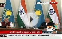 India-Kazakhstan Joint Statement
