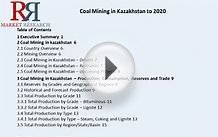 Kazakhstan Coal Mining Industry Analysis & Forecast to 2020