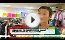 Kazakhstan consumers prefer shopping in supermarkets to