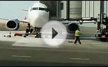Plane on Fire at Aktau Airport, Kazakhstan SCAT Raw Footage HD