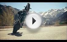 Stunt bike rider Chris Pfeiffer tours through Kazakhstan
