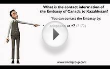 What is the contact information of the Embassy of Canada